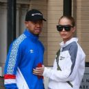 Jasmine Sanders and Terrence J – Christmas Shopping in Beverly Hills - 454 x 681