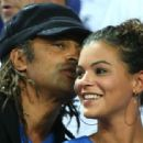 Yannick Noah and Yelena Noah