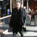 Al Pacino spotted out for lunch at Nate 'N Al's in Beverly Hills, California on December 13, 2014