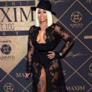 Blac Chyna at The Maxim Hot 100 Party in Los Angeles, California - June 24, 2017 - 454 x 658