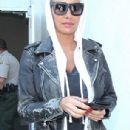 Amber Rose Arrives at LAX in Los Angeles, California - April 19, 2015