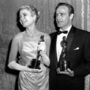 The 27th Annual Academy Awards - Marlon Brando, Grace Kelly