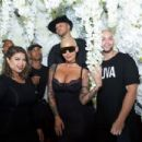 Amber Rose attends the Kat Von D Beauty Fragrance Launch Press Party #SAINTANDSINNER at Hollywood Roosevelt Hotel in Hollywood, California - June 20, 2017