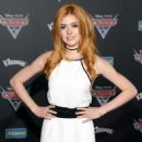 Katherine McNamara attends the premiere of Disney and Pixar's