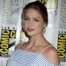 Melissa Benoist – 'Supergirl' Press Line at Comic-Con 2016 in San Diego - 454 x 566