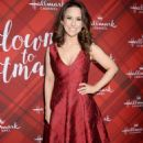 Lacey Chabert – 'Christmas at Holly Lodge' Screening in LA - 454 x 696