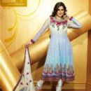 Zarine Khan Exclusive Roopam Dress Collections - 405 x 527