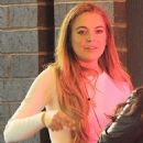 Lindsay Lohan Night Out In New York