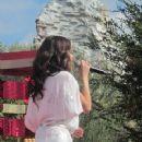 Selena Gomez winter wonderland concert in Disneyland