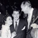 Ronald Reagan and Ruth Roman