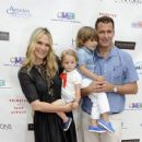 Model Molly Sims attends the Children's Museum of the East End's (CMEE) 7th Annual Family Fair at ChildrenÂ's Museum of the East End on July 18, 2015 in Bridgehampton, New York