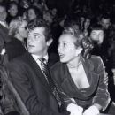 Janet Leigh and Tony Curtis on their first date