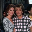Rod Stewart and Kelly Emberg