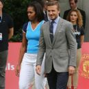 David Beckham and Michelle Obama at the 'Let's Move London' Event (July 27)
