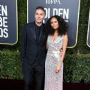Ol Parker and Thandie Newton : The 76th Annual Golden Globe Awards - 400 x 600