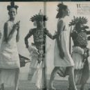 June 1966 - US Vogue. Marie-Lise Gres and Fiona Campbell by Henry Clarke - 454 x 321