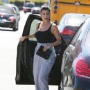 Kourtney Kardashian is spotted heading to a meeting in Los Angeles, California on October 1, 2015