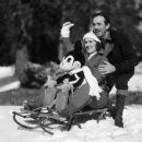 Lillian Disney and Walt Disney