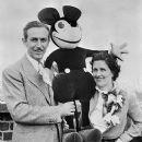 Lillian Disney and Walt Disney - 384 x 480