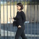 Eve Hewson in Black Jeans at Starbucks in Los Angeles - 454 x 681