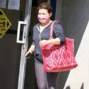 Justina Machado – Out of the DWTS studio in Los Angeles