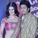 Ritesh Deshmukh and Zarine Khan