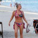 Kerry Katona in Bikini on holiday in Thailand - 454 x 589