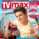 Zac Efron - TV Max Magazine Cover [Czech Republic] (15 July 2016)