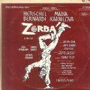 Zorba Original 1968 Broadway Cast Starring Herschel Bernardi - 341 x 342