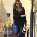 Daisy Fuentes out shopping at Barneys New York in Beverly Hills, California on December 20, 2014