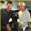 Diane Sawyer With Tom Cruise
