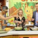 Kristen Bell – 'The Chew' guest appearance in New York - 454 x 297