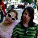 Anthony Kiedis and Nika (Model) - 454 x 340