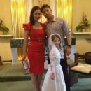 Duncan James and Claire Grainger