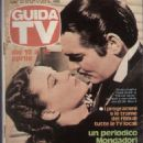 Clark Gable - Guida TV Magazine Cover [Italy] (10 April 1983)