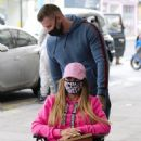 Katie Price – Is seen at the Chelsea and Westminster hospital - 454 x 576