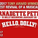 Hello, Dolly!  2017 Broadway Revivel Starring Bette Midler - 454 x 235