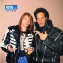 Axl Rose with Andrew Dice Clay
