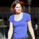 Leighton Meester: take-out with a friend from Corner Bakery