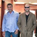 Sylvester Stallone and Jason Statham Grab Lunch in Beverly Hills - 454 x 503