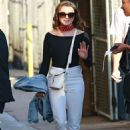 Maisie Williams – Arriving at Jimmy Kimmel Live! in LA