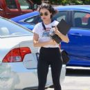 Lucy Hale – Out for breakfast at Joan's On Third in Studio City