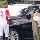Meghan Markle and Prince Harry – Attend The King Power Royal Charity Polo Day in London