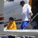 Kylie Jenner arrive at Van Nuys, California on August 13, 2016