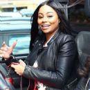 Blac Chyna Out in Calabasas, California - May 7, 2015 - 454 x 570