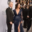Michael Douglas and Catherine Zeta-Jones at The 25th Annual Screen Actors Guild Awards (2019) - 441 x 600