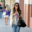 Jordana Brewster: goes shopping in Beverly Hills