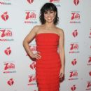 Constance Zimmer – The American Red Heart Association's Go Red For Women Red Dress Collection in NY - 454 x 715