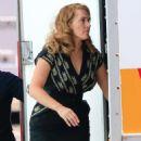 Kate Winslet On The Set Of The Dressmaker At Docklands Studios In Melbourne
