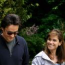 John Cusack and Amanda Peet